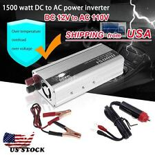 1500W 12V DC TO 110v AC car truck automotive POWER INVERTER Converter 50 Hz N8H2