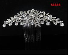 Crown Girl Kid Rhinestone Crystal Tiara Bridal Headband Flower Accessories S8B5B
