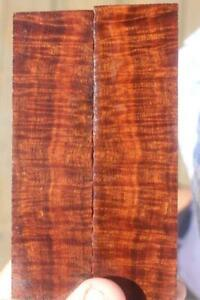 Ringed Gidgee Bookmatched Scales 892