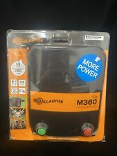 Gallagher M360 Electric Fence Energizer 250 Acres 55 Mi