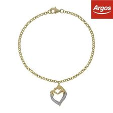 Unbranded Yellow Gold Love & Hearts Costume Bracelets