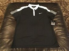 Nike  men's black dri-fit   polo shirt, size XL, NWT!