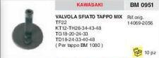 VALVOLA SFIATO SERBATOIO KAWASAKI TF 22 KT 12 TH 26 34 43 48 TG 18 20 24 33 40