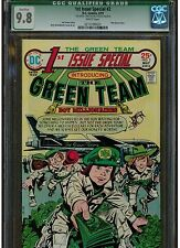 1ST ISSUE SPECIAL #2 CGC 9.8 SIGNED JOE SIMON WHITE PAGES DC 1975 1ST GREEN TEAM