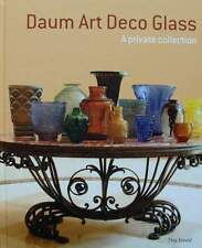 LIVRE/BOOK : DAUM - ART DECO GLASS (vase,lampe,coupe,fer forgé