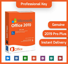 MICROSOFT®OFFICE 2019 PROFESSIONAL PLUS 32/64bit License Key Instant Delivery