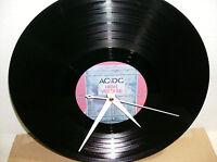 AC/DC High Voltage Vinyl lp Wall Clock