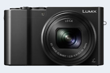 Panasonic Lumix DMC-TZ100 Digitalkamera: schwarz