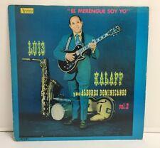 Luis Kalaff Y Sus Alegres Dominicanos – El Merengue Soy Yo, Vol. 2 Vinyl ALP 14
