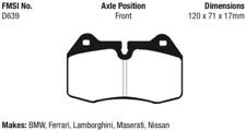 EBC Yellowstuff 4000 Brake Pad Set Front for BMW / Maserati / Ferrari / Nissan