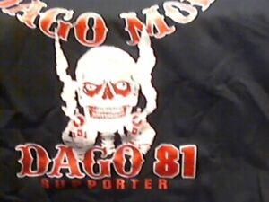 Hells Angels Dago 81 supporter Hoodie sweatshirt 4XL