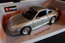 "Bburago Porsche 911 GT3 ""Strasse"" 1:18 silver (AK)"
