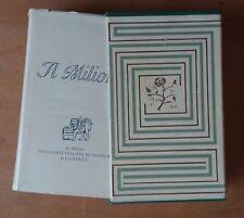 Marco Polo IL MILIONE I Classici Mondadori 1956