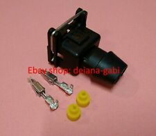 Bosch EV1 Connector plug for fuel injector & 2 pin sensors eu shipping