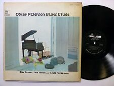 OSCAR PETERSON Blues Etude LP Limelight JAZZ Piano 1966 ORIG. press   #317