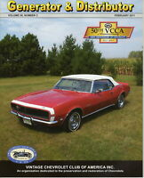 1968 Camaro Rally Sport - Generator & Distributor Magazine Volume 50, Numbers 2