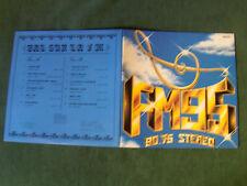 BAL SUR LA FM - MONTMORENCY 90.75 stereo LP 33T FM 95 AMBIENT SYNTH FRENCH 1985