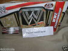 WWE World Heavyweight Championship Belt Replica TOY OFFICIAL SMACKDOWN 2012