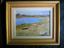Original Oil Painting Seascape Rosalie Nadeau Wellfleet Cape Cod Plein Air Aire