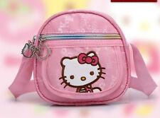 NWT Girls Hello kitty kids purse Messenger book daycare crossbody bag Super Cute