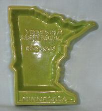 Rosemeade Minnesota Green Dish Ashtray Wall Plaque