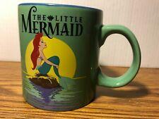 Disney The Little Mermaid RARE Ariel 20 oz. Ceramic Collectible Coffee Mug New