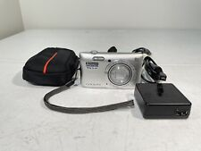 Nikon Coolpix S3700 20.1 MP Camera - SILVER with Cable Charger.
