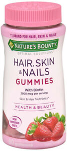 OPTIMAL SOLUTION HAIR SKIN NAIL GUMMY 80
