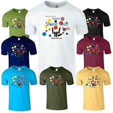 Share The Spots Spotty Day Mens Kids T Shirt Children Funny Boys Girls T-Shirt