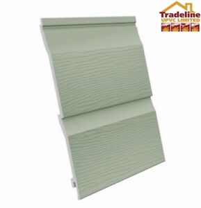 Fortex External Double Embossed Cladding 333mm x 2450mm Various Colours