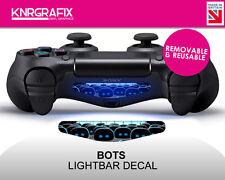 KNR2285 BOTS COLOUR DECAL | Dualshock 4 PS4 Lightbar Decal DS4