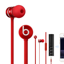 Red urBeats by Dr Dre In-Ear Earbuds with Mic Beats Buds + Bluetooth Wireless