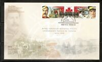 Canada SC # 1737a Royal canadian Mounted police  FDC. Ashton Potter Cover