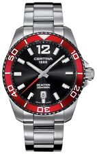 NEW Certina Men's Action DS Watch C013-410-21-057-00 Stainless Steel