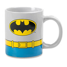 ***BATMAN COSTUME COFFEE MUG - DC COMICS - BRAND NEW***