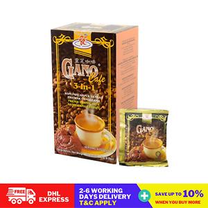 10 Boxes Original Gano Excel Cafe 3 in 1 Coffee Ganoderma Reishi Halal DHL FedEx