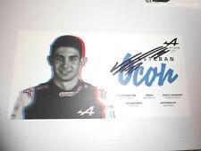 original Esteban Ocon NEU - Formel 1