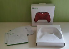 Boite vide manette xbox one rouge
