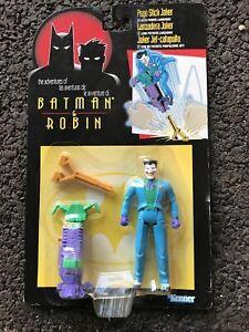 KENNER BATMAN & ROBIN ADVENTURES ACTION FIGURES Pogo Stick Joker Action Figure