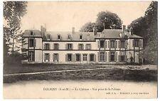CPA 77 - EGLIGNY (Seine et Marne) - Le Château. Vue prise de la pelouse