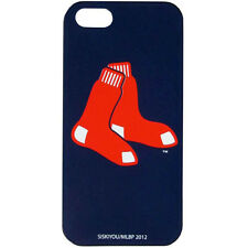 MLB Boston Red Sox Blue iPhone 5 5S Silicone Gel Case Mobile Phone Skin Cover