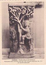 FERRARA - Museo della Cattedrale - Particolare della distrutta porta dei mesi