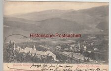 (89213) AK Nieder Schreiberhau, Heilstätte Moltkefels 1905