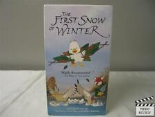 The First Snow of Winter VHS (New, Sealed) Animated, Directed by Graham Ralph