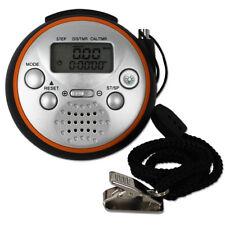 Schrittzähler mit Panikalarm Pedometer Uhr Alarm Fitness Stoppuhr Sport Jogging