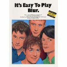 It's Easy to Play Blur Piano Sheet Music Book Grade 1-3 Songbook Beginner S11
