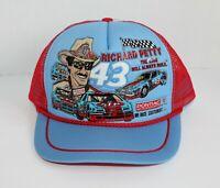 Vtg 80's Richard Petty Snapback Trucker Hat Cap Kandi Tops The King STP Pontiac