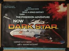 Rare - Dark Star  - Original Cinema Quad Poster - John Carpenter, Tom Chantrell