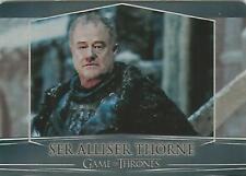 "Game of Thrones Valyrian Steel: #39 ""Ser Alliser Thorne"" Metal Base Card"