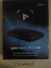 Elgato Game Capture HD 60 PS4, XBOX, WII U, PS3 COMPATIBLE